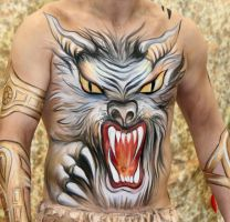 Bodypainting Nightmare by iacubino