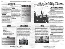 Noster Villa Brochure by Alley9