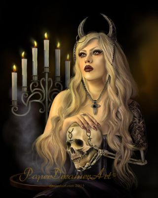 The Curse of Lady Lament by PaperDreamerArt