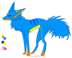 Adoptable Pup by JuggalettaGurl