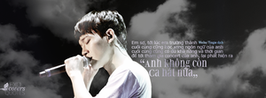 [Photo Quotes] ChenChen Kim JongDae by linhchinie