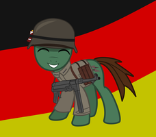 Germane Soldier 'Feredal Empire of Germaney' by BRONYVAGINEER