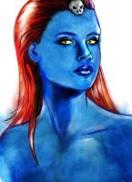 Mystique by gallygan