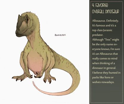 Dinosaur challenge : Day 4 by Galhaad