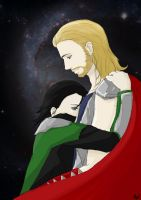 Brothers_ThorLoki by AlyTheKitten