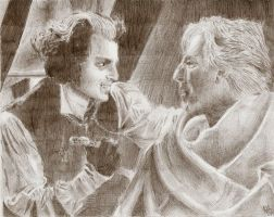 Sweeney Todd and Judge Turpen by neecolette