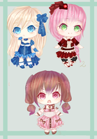 Point Adoptables 3. [CLOSED] by RaidonSesshou