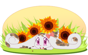 SE: Amongst the Sunflowers by little-fragments