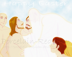 Happy Easter by Porcelain-Requiem