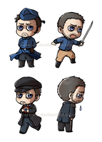 All the Crowe!Javerts by Kata-elf