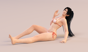 Momiji 3DS Render 7 by x2gon