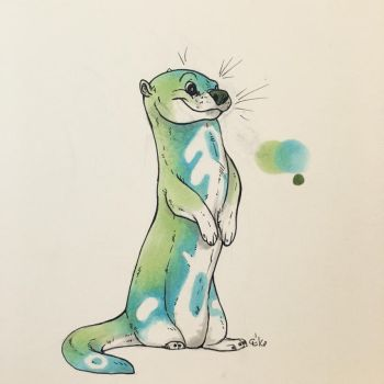 Adoptable Otter by Fwa-tair