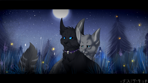 Scourge and Ashfur by xDorchester