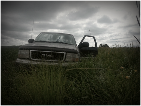 Driving in A Ditch by RougeEmpires