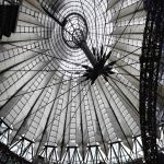 Berlin Roof Sony Center covered with Snow by MichiLauke