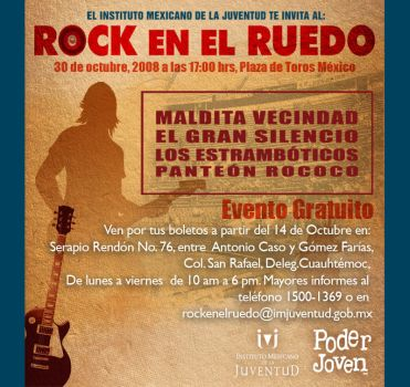 Rock en el Ruedo by Syanne