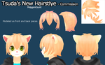 Tsuda's New hair - Commission by PolygonCount
