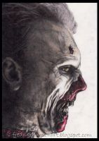 walking dead zombie by FredrikEriksson1