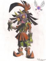 Skull Kid by Princess-Toad