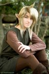 Old school Link cosplay by LiKovacs
