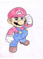 Mario by Darkfire-Blaze