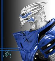 Garrus Vakarian by Captain-Jesse