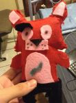 (Hand-Made)Foxy The Pirate Plush  by xImboox