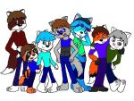 Anthro Main Seven by Wolf-Prince-Leon