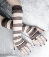 Basalt Arm Warmers by ZenAndCoffee