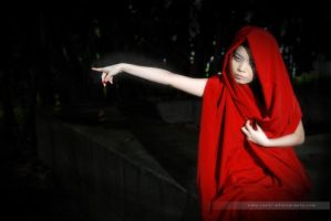 Red lady of the black forest by Raz1n