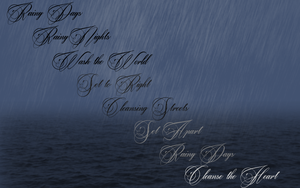 Rainy Days ~ Quote by RMS-OLYMPIC