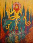 Tentacle Jesus by A1WEND1L