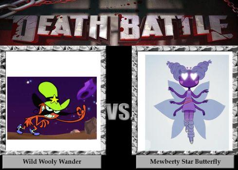 Death Battle Wild Wooly Wander vs Mewberty Star by MaxEd32