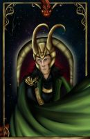 Loki - God of mischief by Zorrogreen