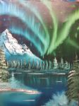 Winter Spring Northern Lights by Windskin92
