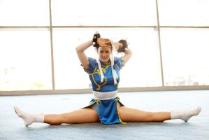 Chun Li Flexibility Demo by too-school-for-cool