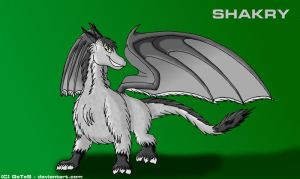 Shakry - for SpyroFF by ZellgroSteelfire