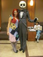 Animefest '12 - Jack and Sally by TexConChaser