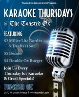 Karaoke Thursdays by puyaybusto