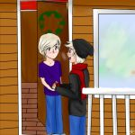 DenNor Christmas Week Day 1 - Childhood Friends by FairyTailForever123