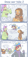 Pkmn Snow War 2 by scilk