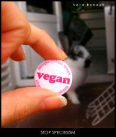 Up vegan by SaraBunny