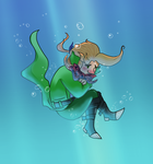 Mad hatter cant swim by pink-ninja
