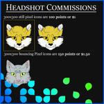 Headshot Commissions! | Open to anyone! by MrCrowIy