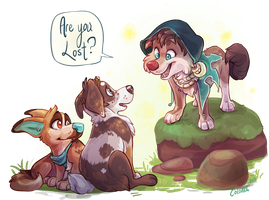 Are you Lost? YCH by Colonels-Corner
