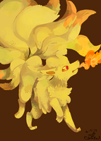 038:. Ninetales by starrywishy