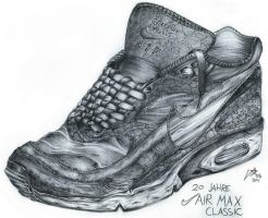 Nike Air Max Classic by kaiosart