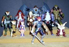 Thundercats 2011 Figures by CyberDrone