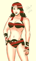 Big Barda by Colours07