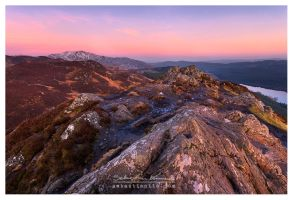 Ben A'an Sunset by SebastianKraus